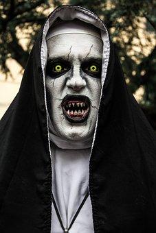 The Nun, Film, Horror, Nun, Strange, Scary, Creepy