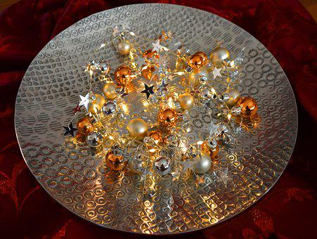 Lichterkette, Christmas Mood, Christmas Balls