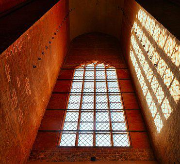 Light, Shadow, Religion, Architecture, Brick, Gothic