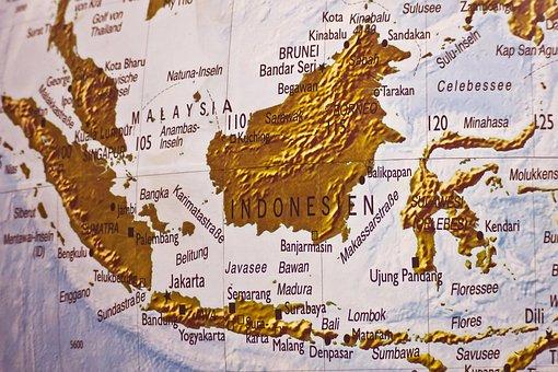 Map, Atlas, Land, Geography, States Of America, Seas