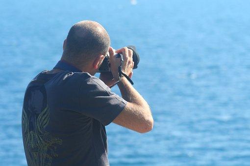 Photographer, Photo, Machine, Marine, Landscape, Nature