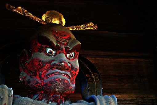 Cock, Buddhism, Temple, God, Myth, Religion, Sculpture