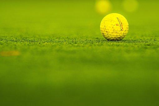 Golf, Course, Ball, Yellow, Pinnacle 2, Golfing, Grass