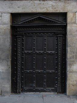 Door, Crafts, Portal, Carved Stone, Lesaka