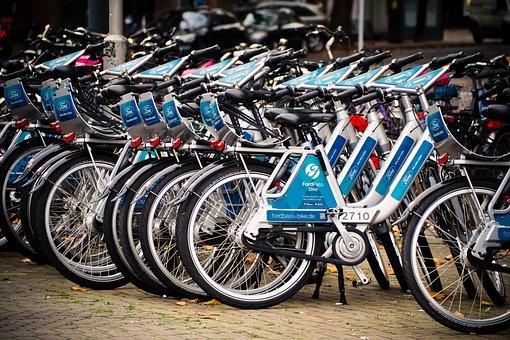 Bicycles, Bikes, Wheel, Rental Bike, Leisure, Series