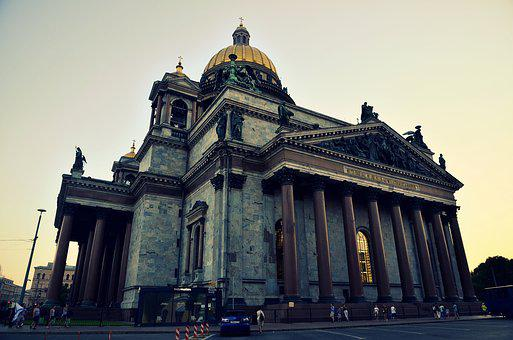 St Petersburg Russia, Peter, Cathedral
