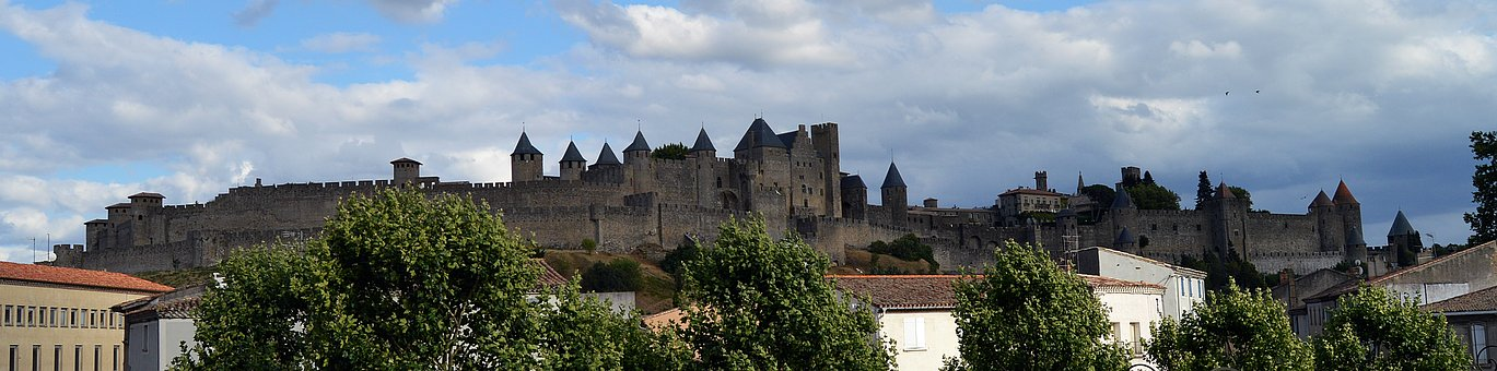 Carcasonne, France, Europe, History, Tourism, Castle