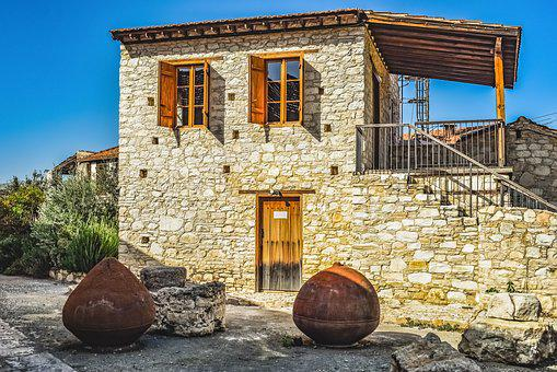 Old House, Stone, Architecture, Traditional, Facade
