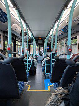 Bus, Seats, Interior, Transit