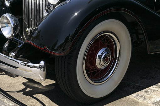 Packard Super 8, 1934, Convertible, Classic, Car