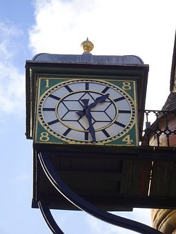 Clock, Old, Antique, Clock Face, Half Two, Time