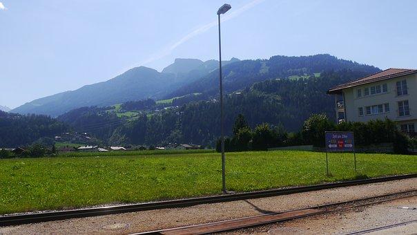 Train, Steam Train, Rails, Nature, Austria, Holiday