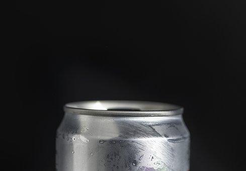 Aluminium, Beverage, Black, Black Background, Can