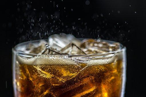 Background, Beverage, Black Background, Bubble
