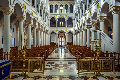 Church, Interior, Architecture, Building, Religion