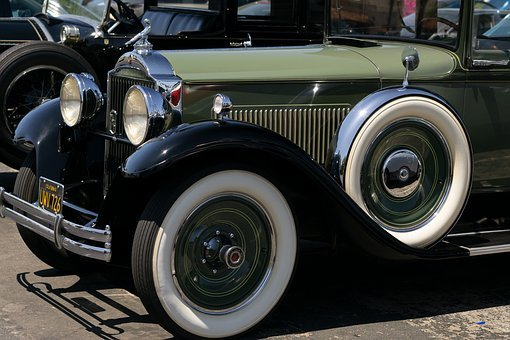 Retro, Vintage, Car Show, Antique, Classic, Packard