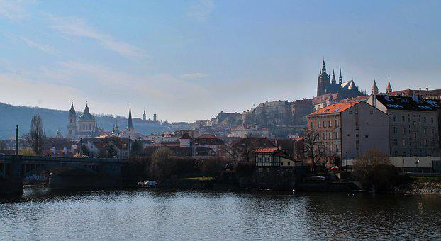 Prague, Prague Castle, Charles Bridge, Castle, City