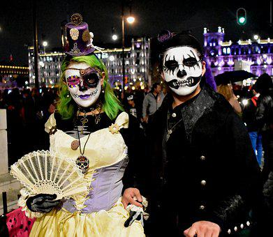 Catrina, Day Of The Dead, Costume, Death, Skull, Bruges