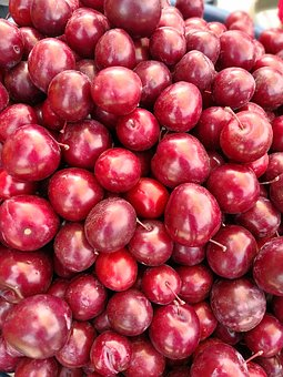 Plums, Fruit, Agriculture, Fresh, Food