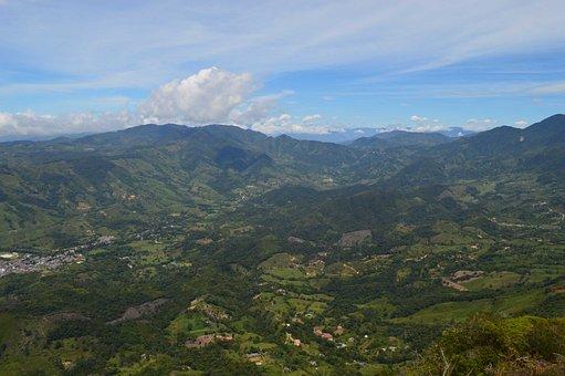 Green, Nature, Landscape, Grass, Hills, Mountains