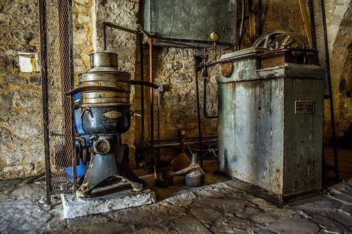 Machines, Equipment, Old, Antique, Vintage, Retro