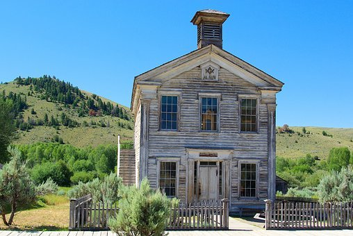 Bannack School And Masonic Lodge, Montana, Bannack