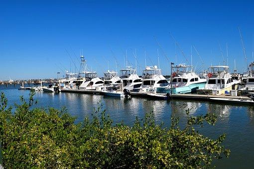 Boat Marina, Boats, Yacht, Moored, Mooring, Secured, St