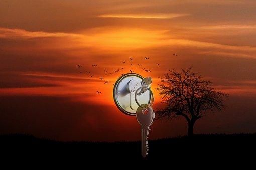 Horizon, Afterglow, Evening Sky, Abendstimmung, Nature