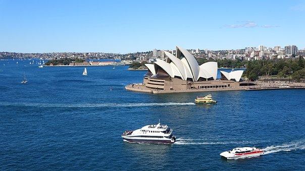 Australia, Sydney, New South Wales, Opera, Port
