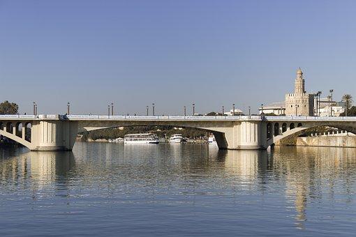 Puente San Telmo, Seville, Bridges