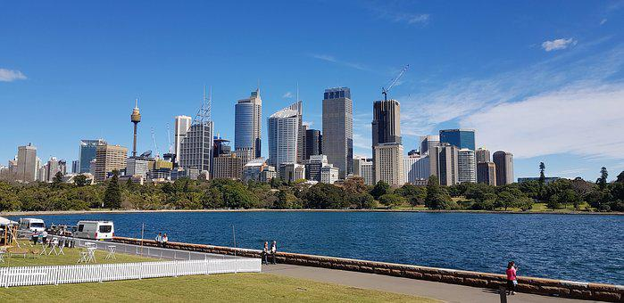 Australia, Sydney, New South Wales, Skyline