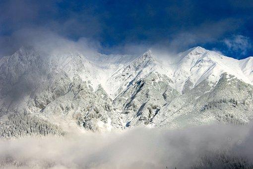 Mountain, Snowy Mountain Peak, Snowy, Mountains, Alps