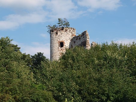 The Ruins Of The, Castle, History