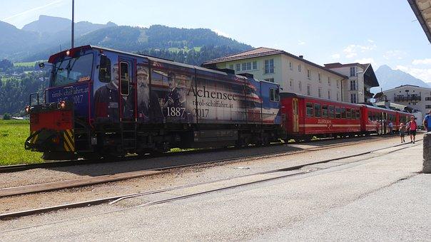 Train, Steam Train, Train Station, Rails, Nature