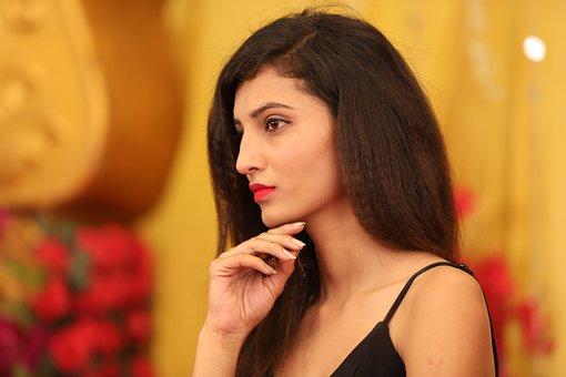 Hot Girl, Face, Eyes, Indian Model Girl, Women