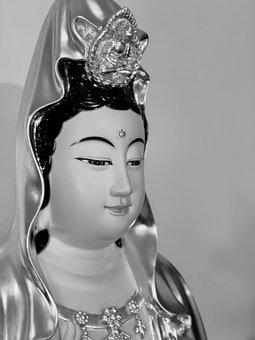 Guanyin, A Kindly Face, Serenity, Mercy