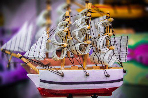 Boat, Toys, Antiques, Ship, Water, Ocean, Fun, Travel