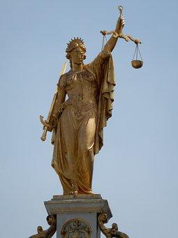 Lady, Liberty, Balance, Gold, Justice, War, Equality