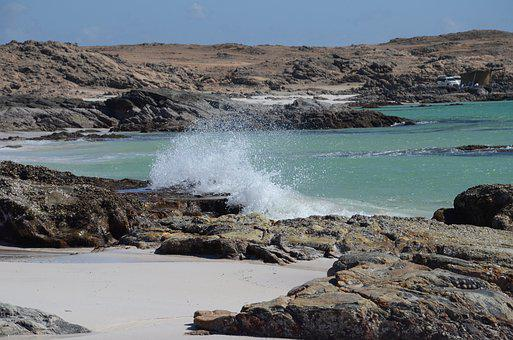 Surf, Beach, Oman, Seascape, Sea, Ocean, Seashore