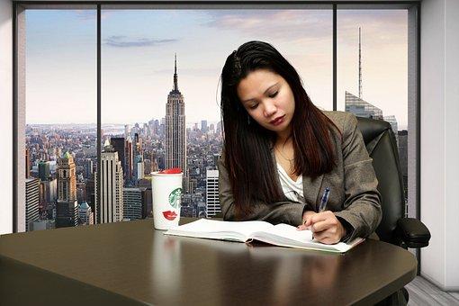 Young, Asian, Girl, Book, Woman, Education, Beautiful