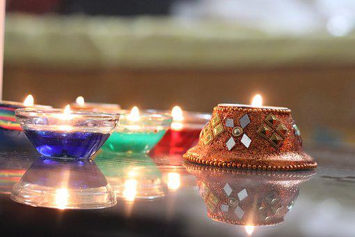 Diwali, Candle, Candlelight, Candle Design