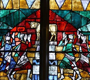 Church Window, Church, Faith, Stained Glass