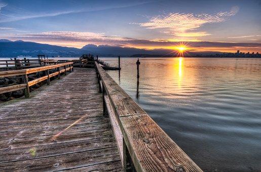 Coast, Colorful, Dramatic, Lake, Landscape, Morning