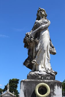 Death, Cemiterial, Cemetery, Sculpture, Mourning, Art