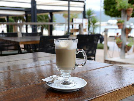 Coffee, Beach, Holiday, Sea, Drink
