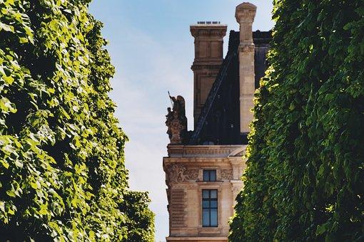 Paris, Tuileries Garden, Louvre, France, Parisienne