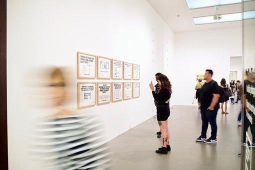 Art, Art Gallery, Framed Artwork, London, Gallery