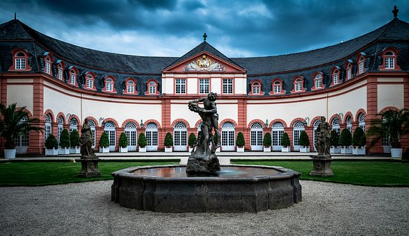Weilburg, Germany, Castle, Building, Historically