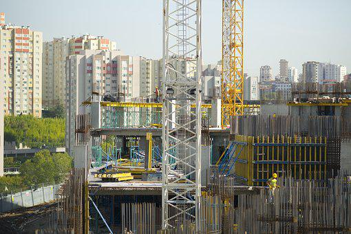 Construction, Crane, Worker, Work, Hard, Tower