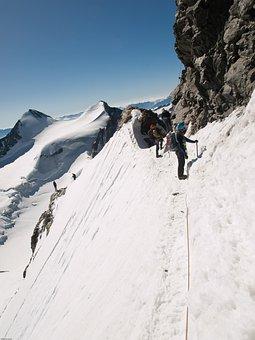 Mountain, High-altitude Mountain Tour, Bernina, Roped